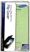 for Galaxy S4 Samsung Replacement Battery Cover with Flip Cover Green $3.00