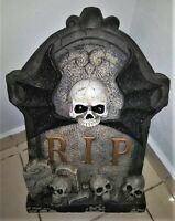 Halloween haunted house quality heavy duty Tombstone prop lights animated sturdy