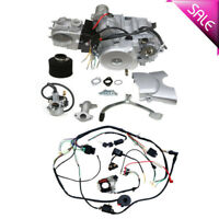 125cc 4 stroke ATV Engine Motor Semi Auto w Reverse Electric Start w Wire Loom
