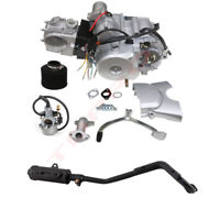 125cc ATV Engine Motor Kit Semi Auto Electric Start Reverse Carb Muffler Quad