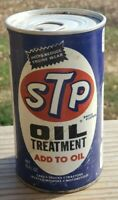 Vintage 70s STP Oil Treatment 15 Oz Can Sealed USA