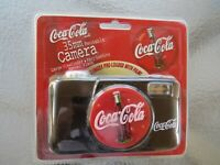 Coca Cola Camera 35mm w manual flash large viewfinder New in original packaging