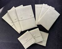 Van Cleef and Arpels Suede Jewelry Pouch LOT