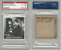 1966 Topps Get Smart #10 Smart Punches In PSA 6 EXMT $18.99