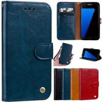 Flip Leather Case For Samsung with Wallet and kickstand AU $19.99