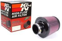 Kamp;N Universal 2.5#x27;#x27; Air Intake Cone Filter 64mm RU 4950 for Car Truck SUV $49.99