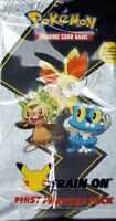 Pokemon First Partner PACK 3 Jumbo Kalos Cards 2 Booster 25th May SHIPS TODAY $24.95