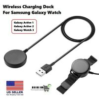 For Samsung Galaxy Watch Active 1 2 Watch 3 Wireless Charger Charging Dock $8.40