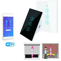 Electric WiFi Smart Touch Curtain Blind Roller Shutter Switch APP Remote Control $22.99