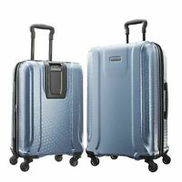 American Tourister Fender Hard Shell Spinner Luggage Suitcase 2 Piece