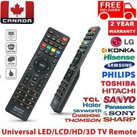 Universal TV Smart Remote Control for TV LCD TV LED TV HD TV in Home amp; Office C $7.99