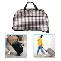 24quot; Luggage Suitcase Rolling Wheeled Trolley Travel Set Bag Lightweight Suitcase