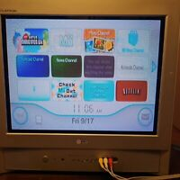 LG TV CRT 20quot; great condition Great for retro gaming AV FRONT REAR Read C $250.00