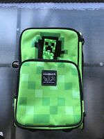 Minecraft Creeper Rolling Suitcase Kids Luggage