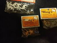 Vintage Set of 8 Minature Deers for Crafting in original bags not opened
