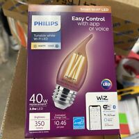 4 Lot Philips Smart Bulb LED 40W Dimmable Wi Fi Wiz Connected Light * $40.00