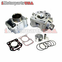 CYLINDER ENGINE REBUILD KIT ZONGSHEN LONCIN CG250 167FMM 250CC WATER COOLED ATV