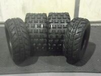HONDA TRX 250R AMBUSH SPORT ATV TIRES ( SET 4 ) 22X7-10 , 20X10-9   CST