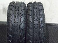 HONDA TRX 250R AMBUSH SPORT ATV TIRES ( 2 FRONT TIRE SET ) 22X7-10