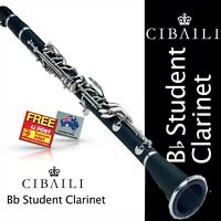 CIBAILI PINK Bb Student CLARINET • BRAND NEW •  With Reeds, Case and Warranty
