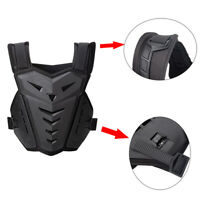 Motorcycle Back Chest Protector Body Armor ATV Street Bike Vest Guard Deflector