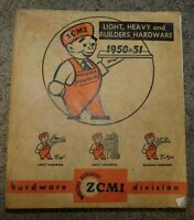 1950 1951 ZCMI Wholesale Distributors BUILDERS HARDWARE CATALOG   UTAH