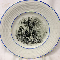SARREGUEMINES DIGOIN FRANCE SGN3 NOVEMBRE NOVEMBER BREAD & BUTTER PLATE 7 1/8