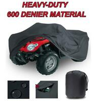Trailerable ATV Cover 850 Touring EPS  2010  Polaris Sportsman Black