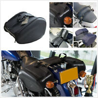 Pair Motorcycle ATV Saddlebags Luggage Pannier Waterproof Helmet Tank Bag 36-58L