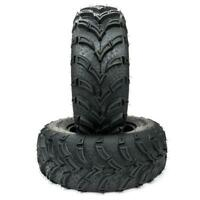 TWO TIRE SET ATV TIRES 6 PLY 625mm 25x8x12 Factory Direct with warranty