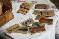 Tydol Flying A Gasoline & Veedol Motor Oil, vintage Airplane Cards Lot of 61