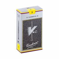 Vandoren V.12 Bb Clarinet Reeds, Strength 3, 10 Pack