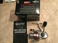 New Quantum PT Accurist AC20PTI Spinning Reel with free shipping!!