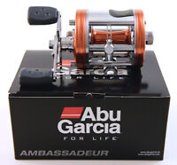 ABU GARCIA AMBASSADEUR 6500CS PRO ROCKET COPPER RIGHT HAND REEL #1428018 SWEDEN