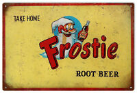 Frostie Root Beer Reproduction Country Advertisement