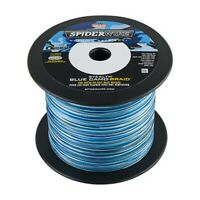 Spiderwire SS10BC-1500 Stealth Braid Blue Camo 10lb 1500 Yard Fishing Line