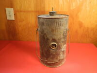Fuel Gas lantern kerosene railroad Can Oil Vintage Antique Sign Rare Find