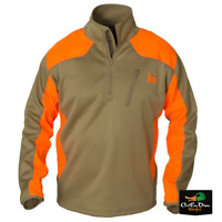 NEW BANDED GEAR UPLAND SOFT SHELL PULLOVER JACKET BLAZE AND KHAKI