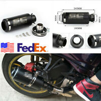 Universal 36-51mm Motorcycle ATVs Modified Exhaust Tip Muffler Pipe USA Shipping