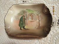 ANTIQUE ROYAL DOULTON DICKENS WARE OBLONG BOWL  DEPICTING **TONY WELLER**