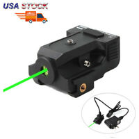 USA Stock Rechargeable Green Dot Laser Sight Subcompact for Pistol Rifle Scope