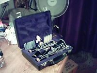 Vintage ~ Selmer Clarinet # 1401 in Case with 4 New Reeds ~ Musical Instrument