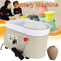 350W 25CM Pottery Wheel Potters Wheel Ceramic Clay Work Forming Casting Machine