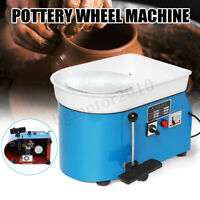 Electric Pottery Wheel Ceramic Machine Foot Flexible Pedal Work Clay Art 250W