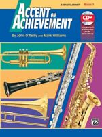 Accent on Achievement Bk 1 : Bb Bass Clarinet Book and CD Bk. 1...