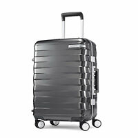 Samsonite Framelock 20 Inch Hardside Carry On Luggage Spinner Wheels Suitcase