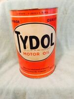 TYDOL 5 QUART MOTOR OIL CAN NICE ONE