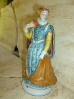 Vintage Mary Queen of Scotts Hand Painted Porcelain Figure Staffordshire England