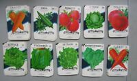Wholesale Lot of 250 Old Vintage Vegetable SEED PACKETS - 20 cent - EMPTY -