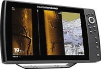 New Humminbird Helix 12 Chirp SI Mega GPS G2N Complete With Transducer